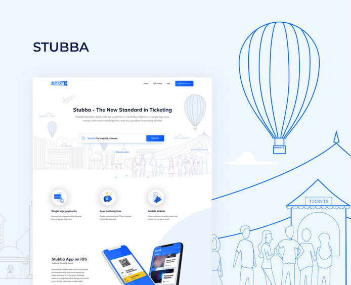 stubba ios mobile app