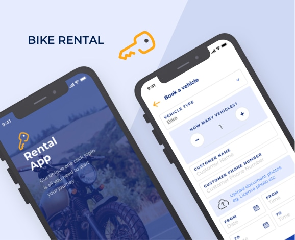 bike rental mobile application