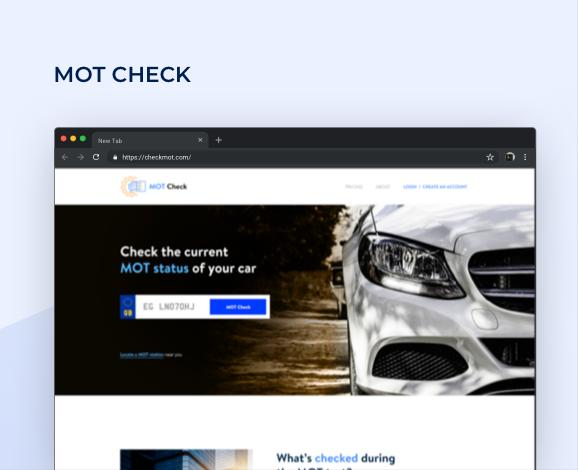 mot website design