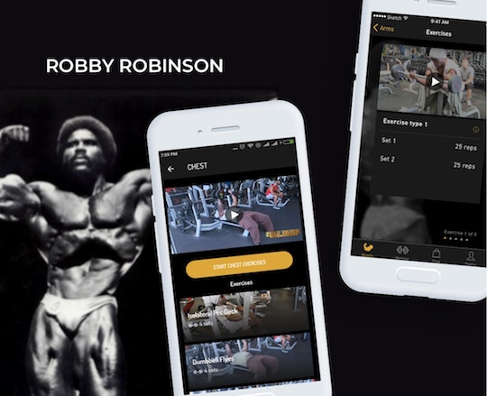 robinson android app development
